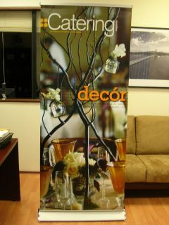Use Dashing Roll-Up Banners to Grab Public Attention