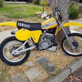 1980 Yamaha YZ 250