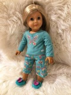 American Girl Doll Spring Pajama Outfit