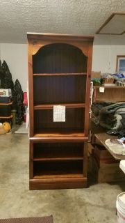 Solid wood Library book shelves