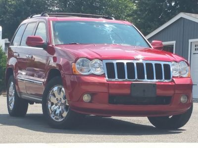 2010 Jeep Grand Cherokee Limited (Inferno Red Crystal Pearl)