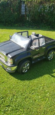 Chevy Silverado Power Wheels