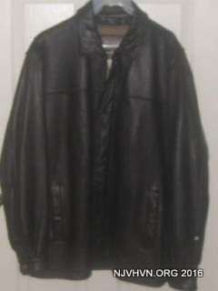 MANS LEATHER COAT  (WILSOn)