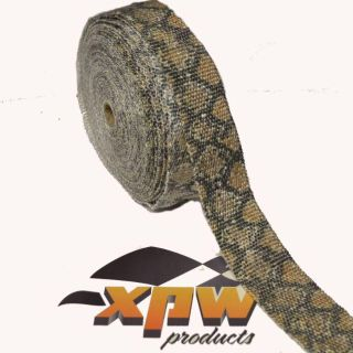 Sell 25' SNAKESKIN RAT WRAP Header/Exhaust Pipe Motorcycle/Hot Rod/Honda/Indian/Black motorcycle in Brighton, Tennessee, US, for US $29.90