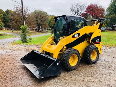 CAT 262C SKID STEER RUBBER TRACK LOADER