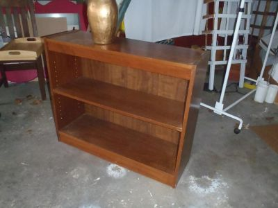 """36"""" solid wood shelving/ bookcase"""