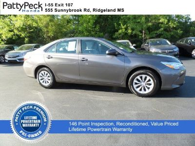 2017 Toyota Camry LE FWD (Cosmic Gray Mica)