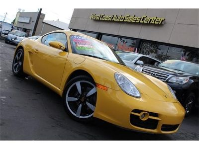 2008 Porsche Cayman 1 Owner Extra Low Miles & Extra Clean