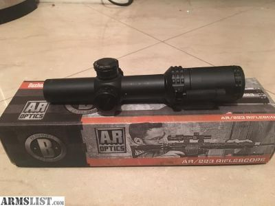 For Sale: Bushnell 1-4x24 scope