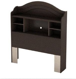 Furniture Full Bookcase Headboard 54in Country Chocolate
