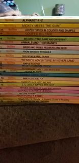 24 Walt Disney Hard cover books