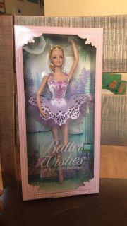 Pink label barbie collector barbie wishes doll