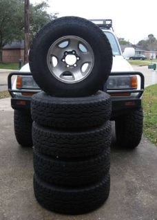 5 Falken Rocky Mountain tires - 2657516 on Toyota wheels