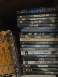 DVD s lot Best acceptable offer takes!