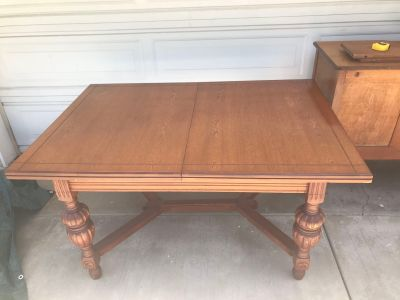 1920 s-30 s Dining Extension Table