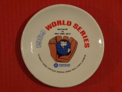 1969 New York Mets World Series Plate