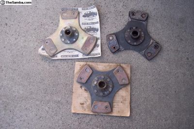 Racing clutch discs, Berg 3 puck