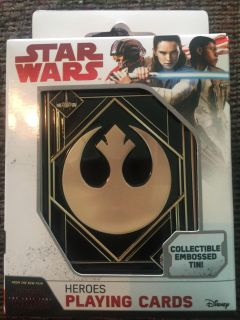 NEW - Star Wars Playing Cards