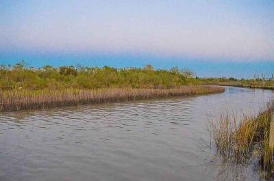 68 Bayou Avenue Smith Point, Canal front with bay view in a