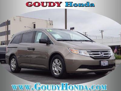 2012 Honda Odyssey LX (Mocha Metallic)