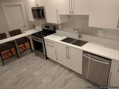 Beautiful apt with utilities included! High End Renovation!