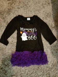 NWOT 12-18 Month Boutique Halloween Dress