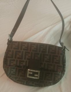 Like new Authentic Fendi Zucca style bagette!!