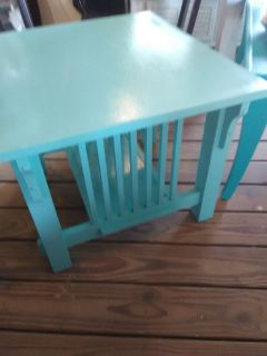 Beachy Blue Table