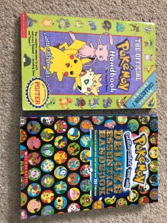 Pokemon handbooks