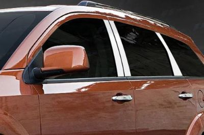 Find SES Trims TI-P-257 09-11 Dodge Journey Door Pillar Posts Window Covers Trim motorcycle in Bowie, Maryland, US, for US $91.00