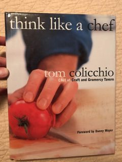 Think like a chef cookbook