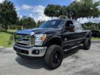 Used 2015 Ford Super Duty F-350 SRW Black, 80.1K miles