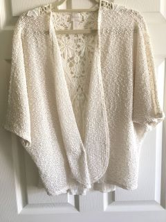 Chico s light weight cardigan Size 2 (10-12)