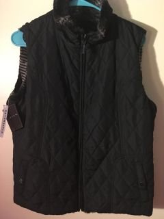 NWT Giacca Reversible Vest size large