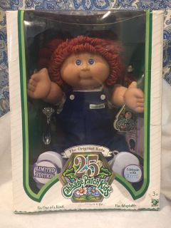 25th anniversary cabbage patch doll Ingrid
