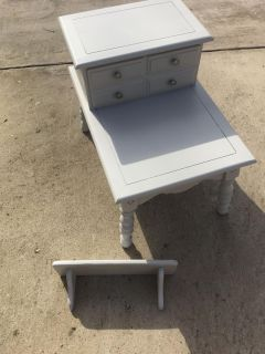 End table and shelf