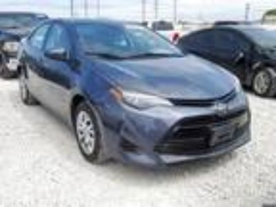 Salvage 2019 TOYOTA COROLLA L for Sale