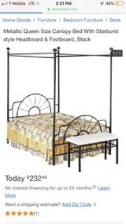 beautiful queen canopy bed