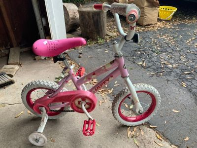 Huffy toddler bike with training wheels