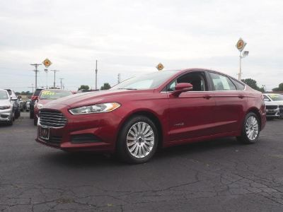2016 Ford Fusion Hybrid SE (Ruby Red Metallic Tinted Clearcoat)