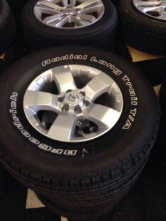 Sell Nissan Xterra Wheels And Tires Original Factory 2005-2013 Frontier motorcycle in San Antonio, Texas, US, for US $695.00