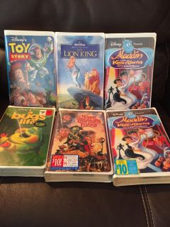 VHS Movies (A few are new)