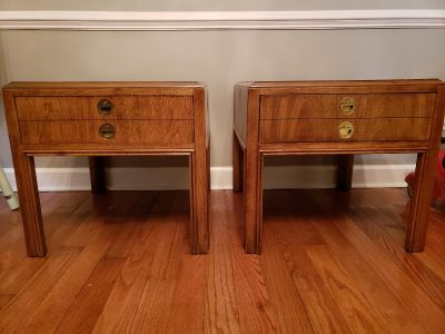 Pair of Drexel Accolade Side Tables