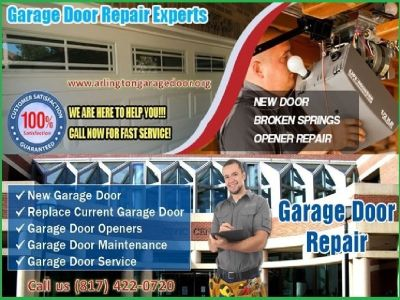 Local Garage Door Repair Service ($25.95) Arlington Dallas, 76006 TX