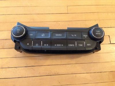 Sell 2014 2015 Chevrolet Malibu Radio Control Panel Single Disc OEM motorcycle in Clinton, Massachusetts, United States, for US $39.99