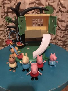 House with Peppa Pig and friends . $15 for all
