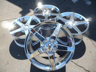 "Find 18"" 19"" corvette c5 camaro firebird wheels rims set new chrome fronts rears motorcycle in Santa Ana, California, US, for US $799.00"