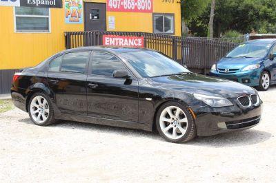 2009 BMW 5-Series 535i (Black)