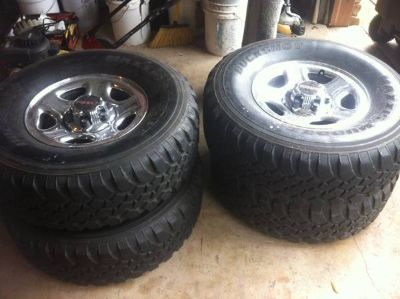Maxxis Mudder Tires with GMC rims