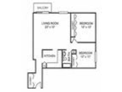 Riverwoods Apartments - Two BR One BA w/Balcony